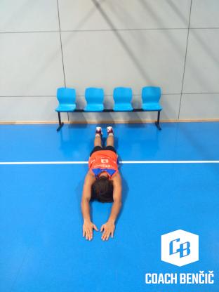 Příklad cviků v silovém tréninku